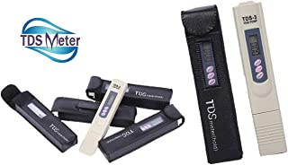 Water Test Kit - TDS Meter - Instantly Check Your PPM Home Water Quality - Digital Tester for Drinking Well Water Hardness and Aquarium - Pool Testing PH Reader Pen