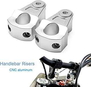 "7/8""/22MM/ Motorcycle Handlebar Risers Pivoting Bar Mount Riser For Yamaha Suzuki Kawasaki Honda KTM Aprilia Ducati Triumph BMW"