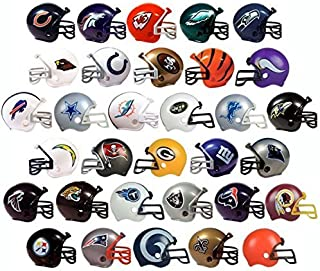 NFL New 2017 Helmet Set. All 32 Teams. Mini Football 2