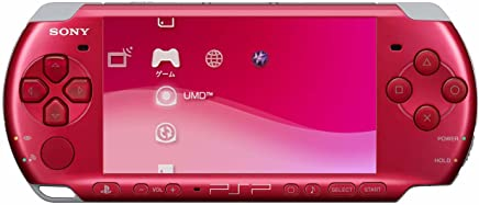 SONY PSP Playstation Portable Console JAPAN Model PSP-3000 Radiant Red (Japan Import)