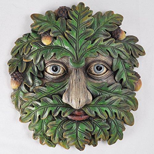 Fiesta Studios Baum Ent Face Wandschild Eiche Flüstern groß Garten Greenman dekoratives Geschenk Dekor 16 cm