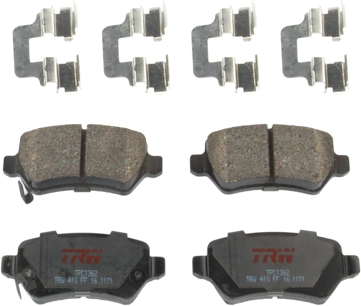TRW TPC1362 有名な Disc Brake Pad Set Astra: for Saturn Rear 激安通販 2008-2009