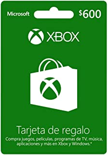 Tarjeta Xbox Live $600 MXN - Xbox One Standard Edition