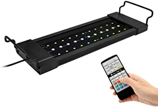 NICREW RGB Plus Aquarium Light, Freshwater Aquarium LED Light with Remote Controller, 24/7 Automated Aquarium Light
