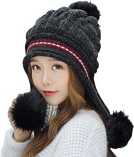 Butterme Berretto a maniche lunghe per berretti invernali con orsacchiotti e berretti invernali