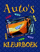 Kleurboek Auto's ✎: Best Coloring Book for Teens! ✌ (Kleurboek Auto's - A SERIES OF COLORING BOOKS) (Dutch Edition)