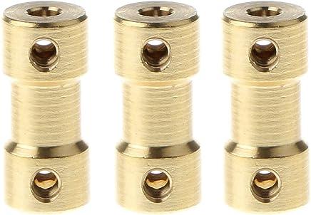 SOURCING MAP 2pcs 5mm /à 4mm cuivre bricolage Joint daccouplement arbre du moteur /électrique du connecteur pour Toy