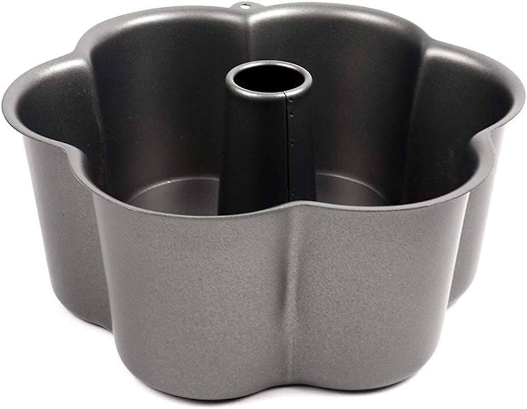 Ametal Rgica Non Stick Flower Shape Angel Food Cake Pan 8 Inch Across X 3 1 2 Inch High