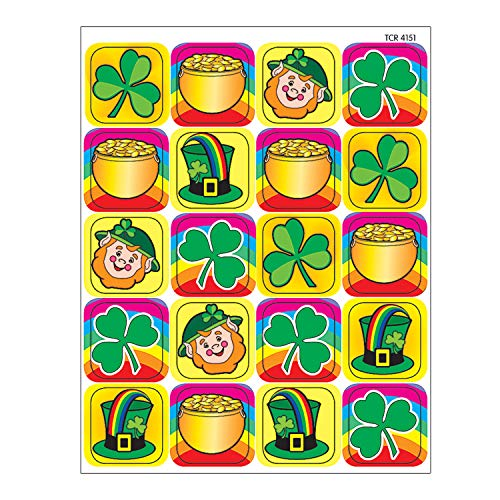 Teacher Created Resources St. Patrick's Day Stickers, Multi Color (4151)