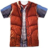 Back to the Future - Mcfly Vest T-Shirt Size XL