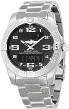 Breitling Men's BTE7936310-BC27TI Aerospace Evo Analog Display Quartz Silver Watch