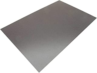 300x200x1MM 3K Carbon Fiber Composite Sheet Panel Plain Weave Matt Finish
