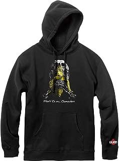 Blind Skateboards Gonz Skull And Banana Vintage Black Hooded Sweatshirt - Small