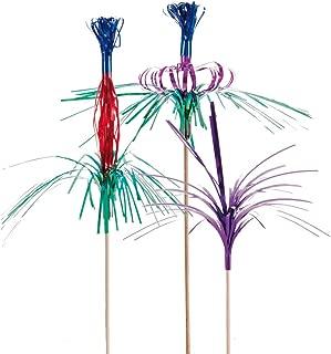 Colores Variados Garc/ía de Pou Adornos Helados 15 cm Madera y Papel