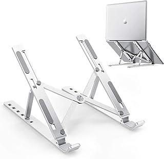 Aseem Laptop Stand, Adjustable Aluminum Laptop Computer Stand Tablet Stand,Ergonomic Foldable Portable Desktop Holder Comp...