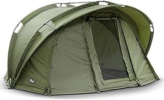 Lucx® Fistält benhylla 1 man Bivvy 1 man karptält Carp Dome Fishing Tent campingtält