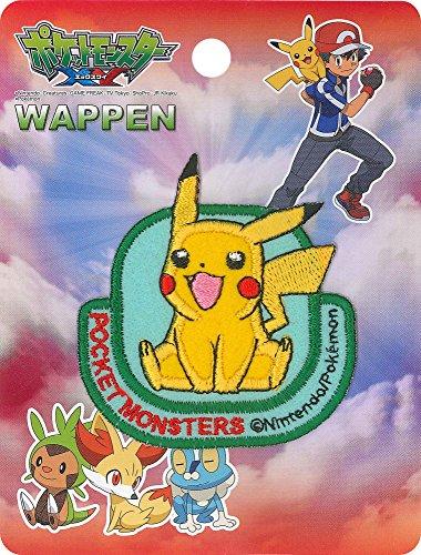 Pokèmon Inagaki Clothing Pikachu Badge Iron bonding PBW001