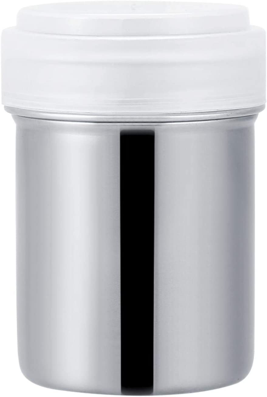PYAZFS Stainless steel powder store shaker p coffee tank sugar Over item handling ☆ cocoa