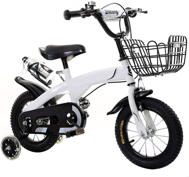 lo último YTBLF Bicicleta para Niños con Cesta y Volante, 12 14 14 14 16 18 Pulgadas, Regalo para Que los Niños equilibren la Bicicleta  nuevo estilo