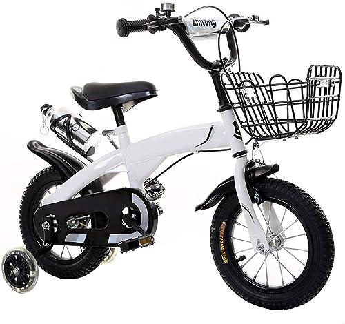 conveniente YTBLF Bicicleta para Niños con Cesta y Volante, 12 12 12 14 16 18 Pulgadas, Regalo para Que los Niños equilibren la Bicicleta  mejor marca