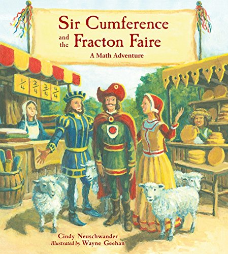 『Sir Cumference and the Fracton Faire』のカバーアート