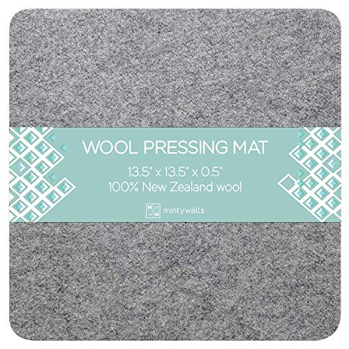 Mintywalls Wool Pressing Mat for Quilting 13.5