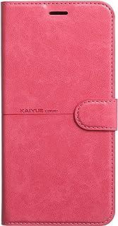 جراب جلدي قلاب من كاييو لهاتف Realme 7 باللون الوردي