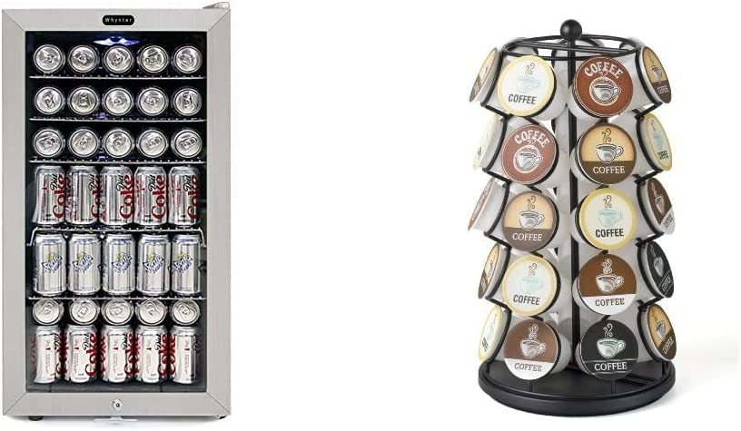 Whynter BR-128WS Beverage Refrigerator Fort Worth Mall With Over item handling Lock 12oz Cans 120