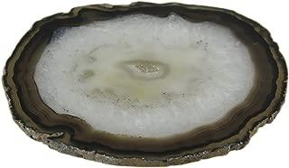 Polished Brazilian Agate Slice Trivet