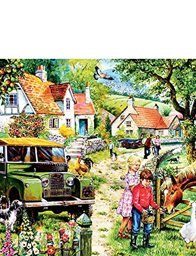 La casa dei puzzle - Puzzle da 1000 pezzi - Orchard Farm
