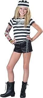 Tween Girls Convict Cutie Costume