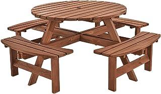 Amazonfr Table Et Banc En Bois Voir Aussi Les Articles Sans