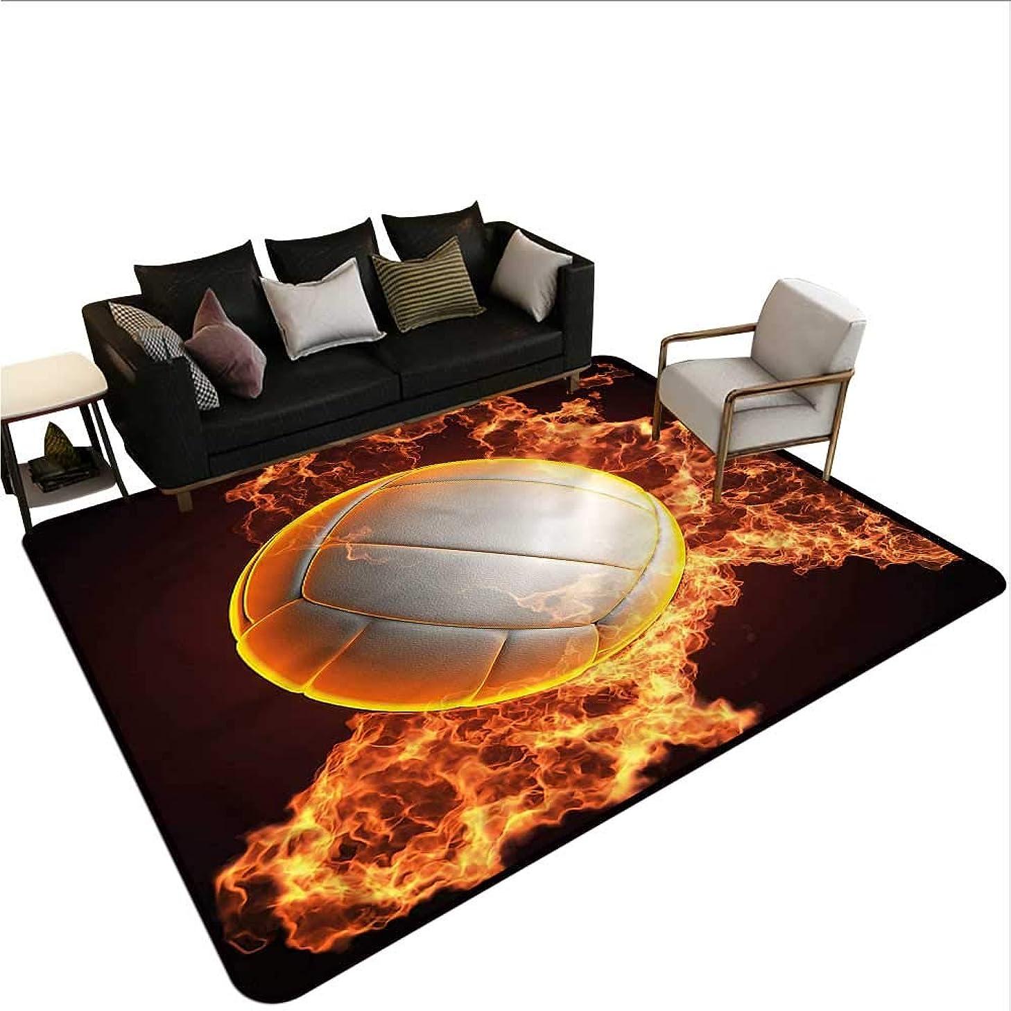 Volleyball,Designed Kitchen Bathroom Floor Mat 24