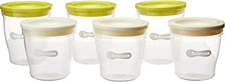 BeBecook Stackable Baby Food Containers Set, 6 count