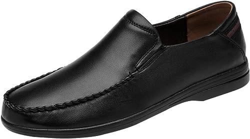 MYXUA Hommes Occasionnels Chaussures Mocassins Doux Pois Chaussures Fashion