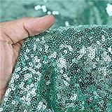 Zdada The Yard Pailletten-Stoff Mint Pailletten Tischdecke,