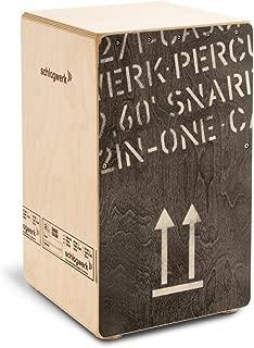 Schlagwerk CP404-BLK 2inOne Black Edition Cajon