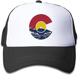 1831612c Waldeal Rocky Mountain Colorado C Toddler Cool Baseball Hat Trucher Mesh Cap  Great for Kids