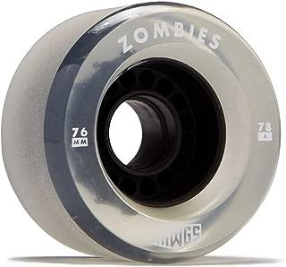 Hawgs Clear Zombie Longboard Wheels - 76mm - 78a - Black