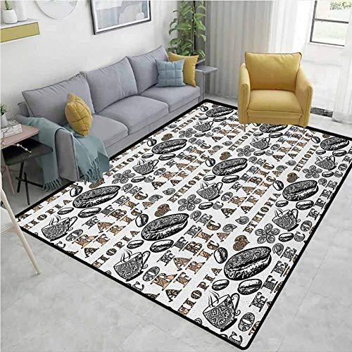 Moderno juego de alfombras de gingham, tapete de Gorilla con ojos naranjas Zoo Jungle Animal Wild Money gráfico, alfombra duradera – salón comedor dormitorio alfombras y alfombras gris caléndula