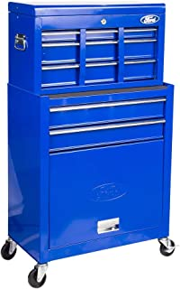 Ford 5 Drawers Chest and Roller Cabinet For Securing Garage,Power,and Hand Tools