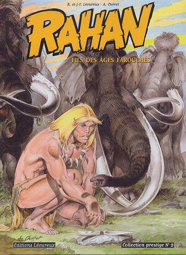 Rahan, tome 2 (Noir et Blanc) Collection prestige (Les fils de Rahan + Les bêtes folles)