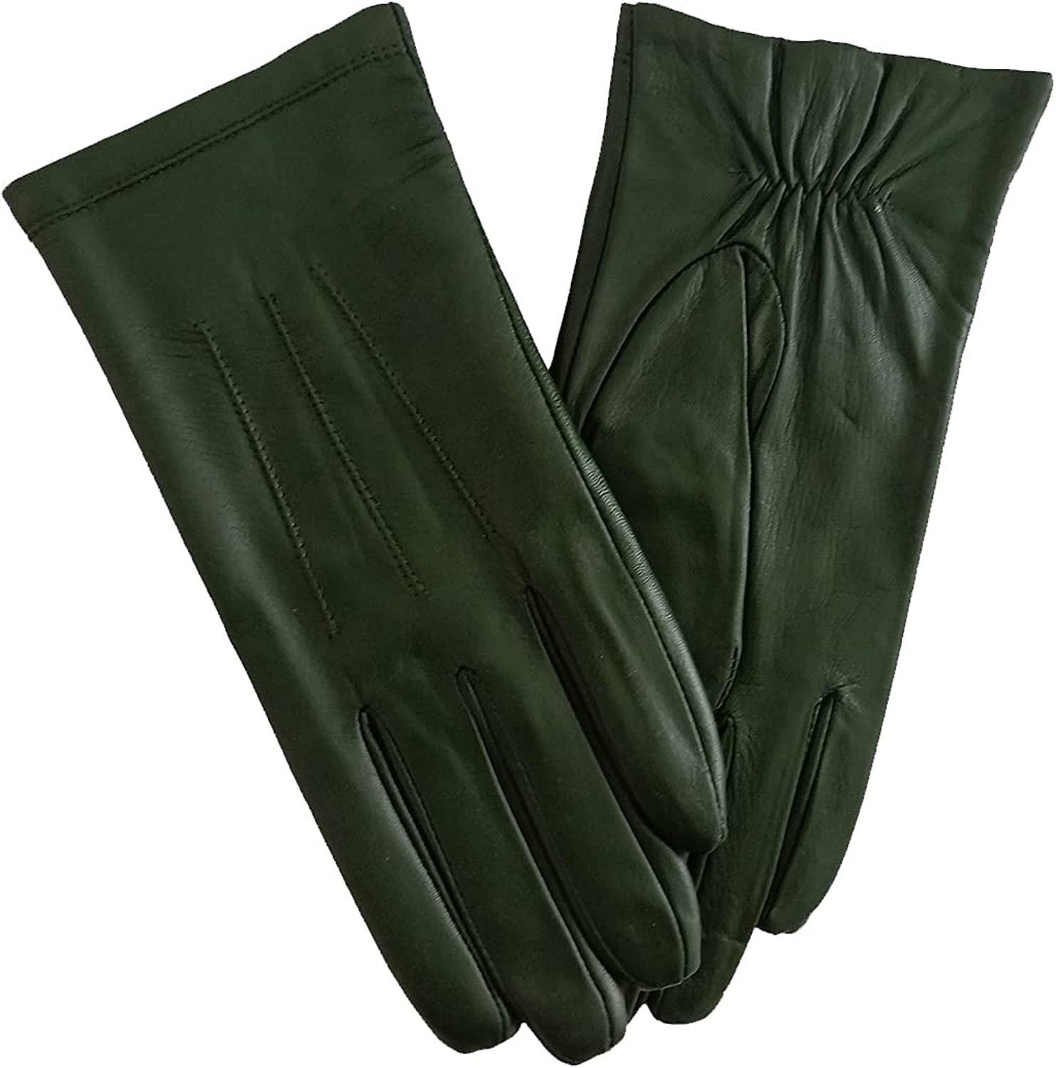 Genuine Leather Gloves for Women Warm driving in Winter Classic Perfect Appearance Touchscreen Texting