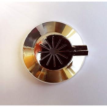 Tubo cobertor para tuber/ías Plumb-Pak 15 mm x 202 mm, 6 unidades color cromado