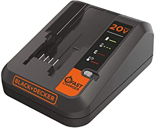 BLACK+DECKER BLACK+DECKER 20V MAX Lithium Battery Charger, 2 Amp (BDCAC202B)