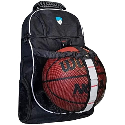 843cba9afb63 Hard Work Sports Basketball Backpack with Ball Compartment