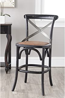 Safavieh American Homes Collection Eleanor Hickory Oak 30.7-inch Counter Stool