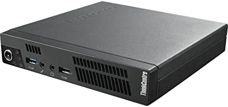 LENOVO ThinkCentre M92P USFF Tiny Ultra Small Form Factor High Performance Business Desktop PC, Intel i5-3470T Up to 3.6GHz, 4GB DDR3, 320GB HDD, DVD, WIFI, Windows 10 Pro (Renewed)