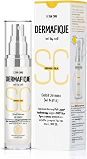Dermafique Soleil Defense All Matte Full Light Spf 50, White, 30 g