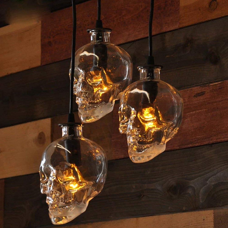 ● Vintage Edison Pendelleuchte Retro Wei Glas Eisen Metall 1-Light Hngelampe Wohnzimmer Esszimmer Schlafzimmer Arbeitszimmer Hhenverstellbar Dekorative Deckenbeleuchtung E27 Max.40W 14cm  H17cm ●